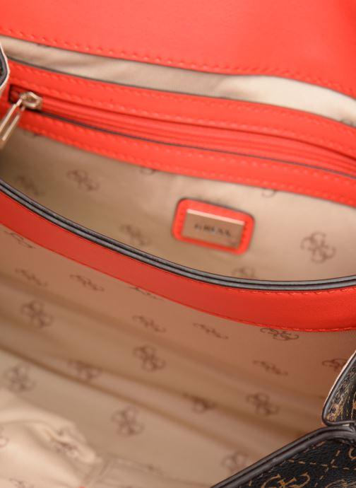 Handtaschen Guess MADDY CROSSBODY FLAP braun ansicht von hinten