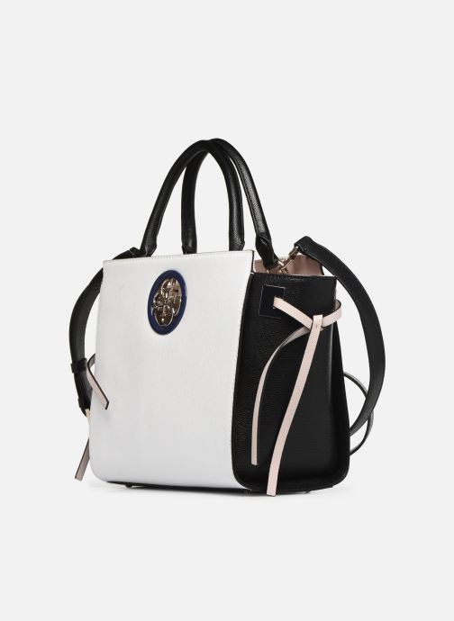 Handbags Guess OPEN ROAD SOCIETY SATCHEL White model view