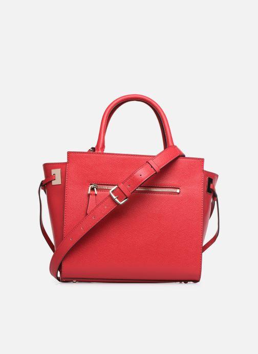 Handtaschen Guess OPEN ROAD SOCIETY SATCHEL rot ansicht von vorne