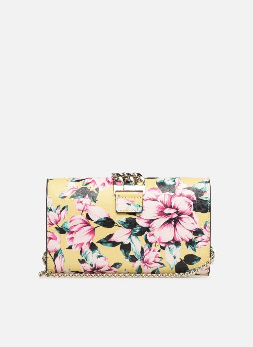Handbags Guess PRISMA CLUTCH Yellow front view