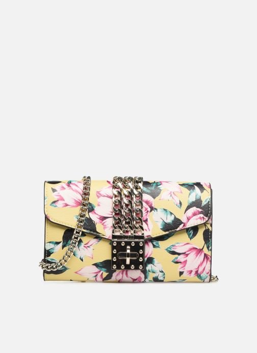 Handbags Guess PRISMA CLUTCH Yellow detailed view/ Pair view