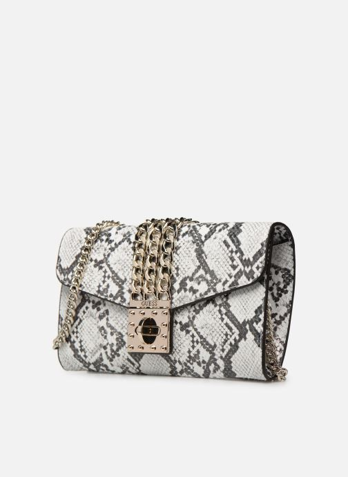Handbags Guess PRISMA CLUTCH White model view
