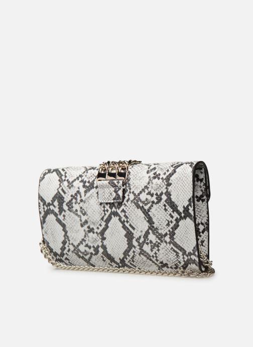 Handbags Guess PRISMA CLUTCH White view from the right