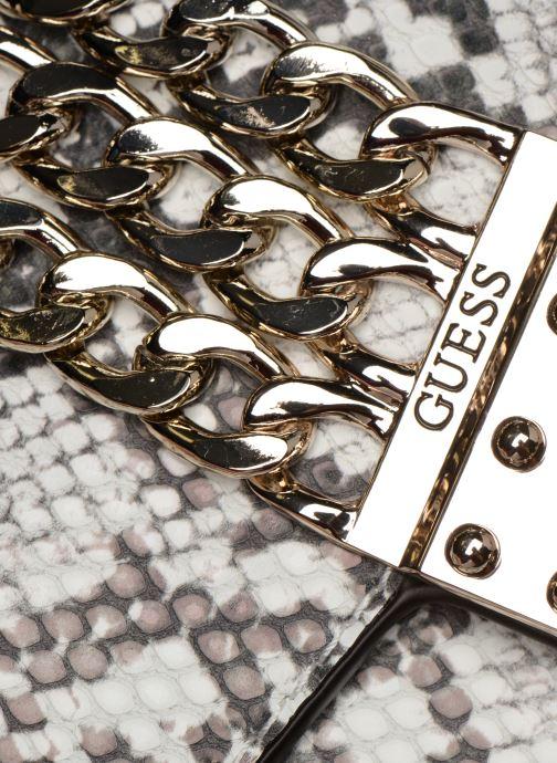 Guess PRISMA CLUTCH Handbags in White at Sarenza.eu (357673)