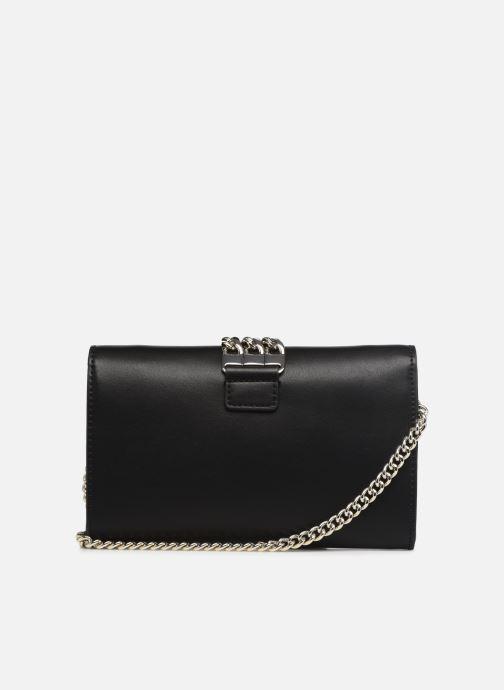 Handtaschen Guess PRISMA CLUTCH schwarz ansicht von vorne
