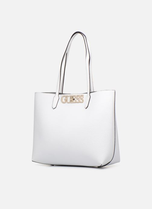 Handbags Guess UPTOWN CHIC BARACELON TOTE White model view