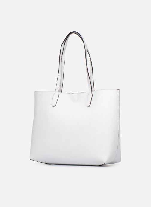 Handbags Guess UPTOWN CHIC BARACELON TOTE White view from the right