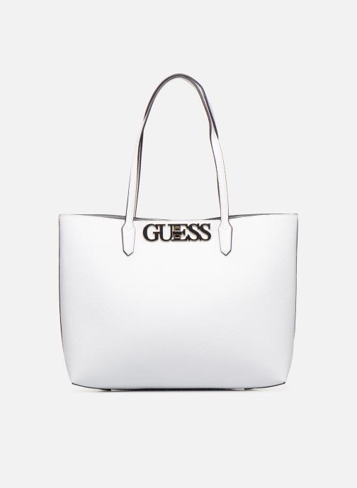 Handbags Guess UPTOWN CHIC BARACELON TOTE White detailed view/ Pair view