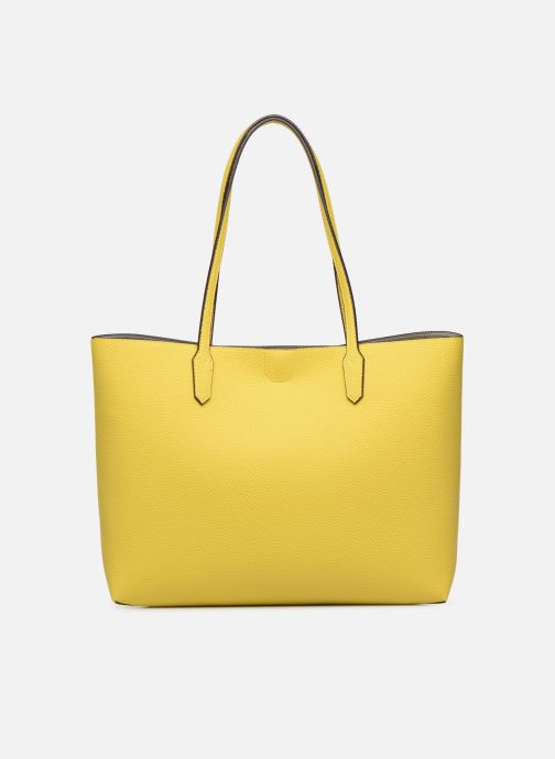 Handbags Guess UPTOWN CHIC BARACELON TOTE Yellow front view