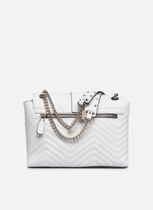 Handbags Guess VIOLET SHOUDLER BAG White front view