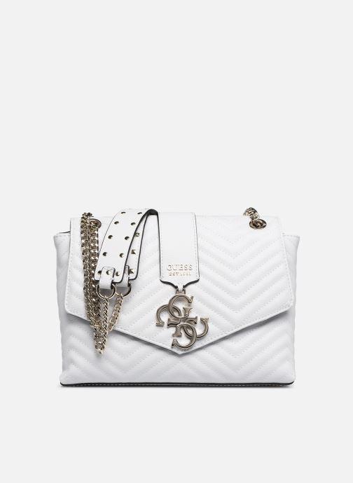Handbags Guess VIOLET SHOUDLER BAG White detailed view/ Pair view