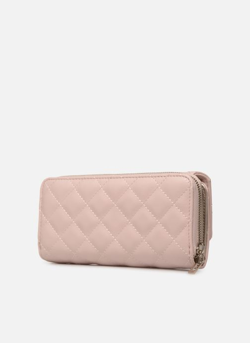 Wallets & cases Guess ELLIANA LARGE CLUTH ORGANIZER Pink view from the right