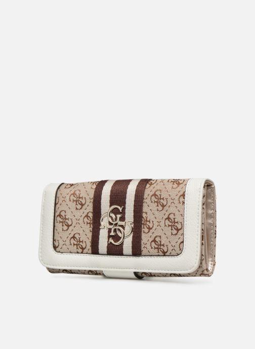 Portemonnaies & Clutches Guess GUESS VINTAGE FILE CLUTCH beige schuhe getragen