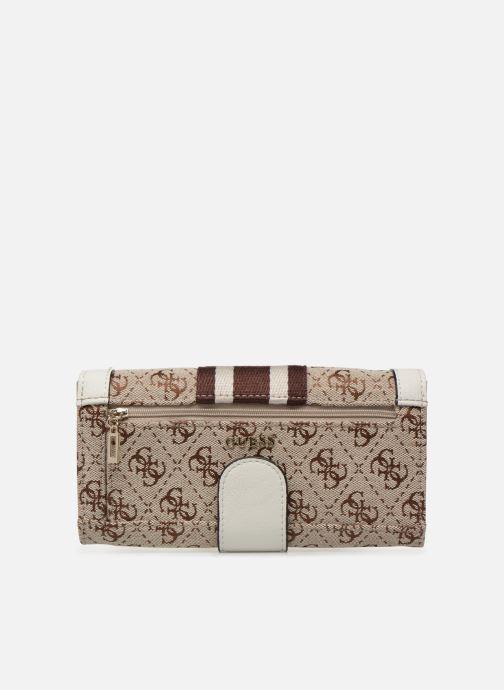 Portemonnaies & Clutches Guess GUESS VINTAGE FILE CLUTCH beige ansicht von vorne