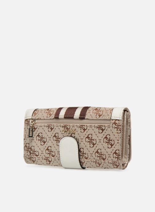 Portemonnaies & Clutches Guess GUESS VINTAGE FILE CLUTCH beige ansicht von rechts