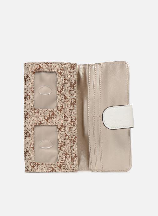 Portemonnaies & Clutches Guess GUESS VINTAGE FILE CLUTCH beige ansicht von hinten