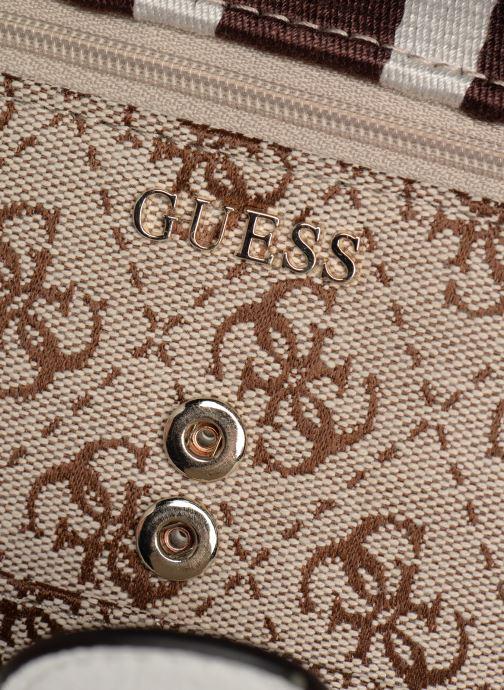 Portemonnaies & Clutches Guess GUESS VINTAGE FILE CLUTCH beige ansicht von links