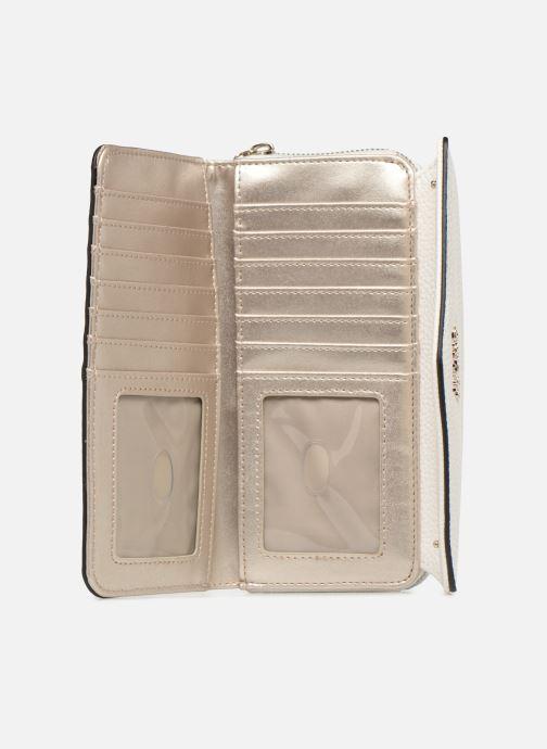 Portemonnaies & Clutches Guess COLETTE LARGE CLUTH ORGANIZER weiß ansicht von hinten