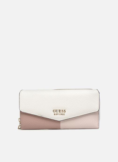 Portemonnaies & Clutches Guess COLETTE LARGE CLUTH ORGANIZER weiß detaillierte ansicht/modell