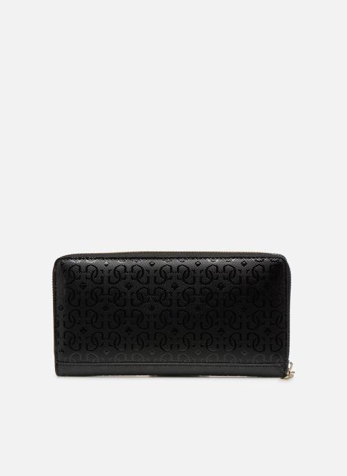 Portemonnaies & Clutches Guess SHANNON CHEQUE ORGANIZER schwarz ansicht von vorne