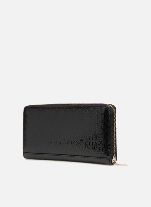Portemonnaies & Clutches Guess SHANNON CHEQUE ORGANIZER schwarz ansicht von rechts