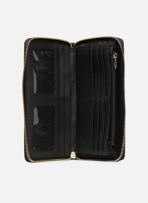 Wallets & cases Guess SHANNON CHEQUE ORGANIZER Black back view
