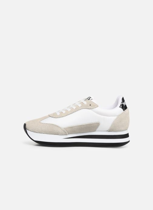 Sneakers No Name Flex Jogger Beige voorkant