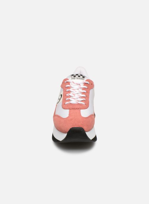 Baskets No Name Flex Jogger Rose vue portées chaussures