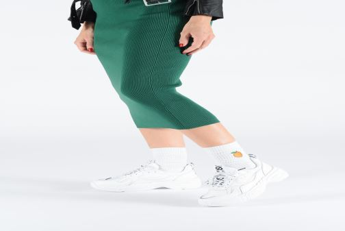 Baskets No Name Nitro Jogger Blanc vue bas / vue portée sac