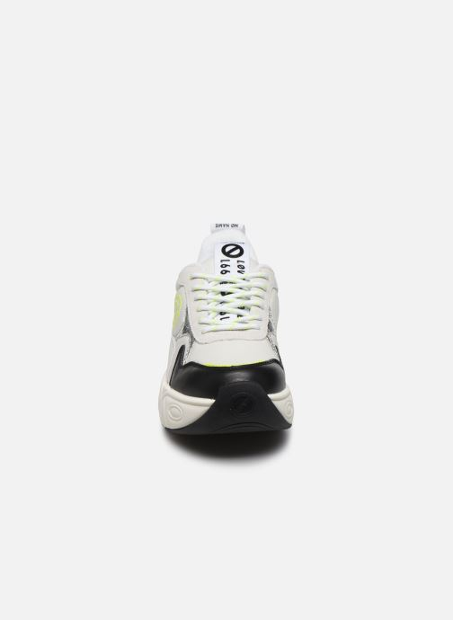 Sneakers No Name Nitro Jogger Bianco modello indossato