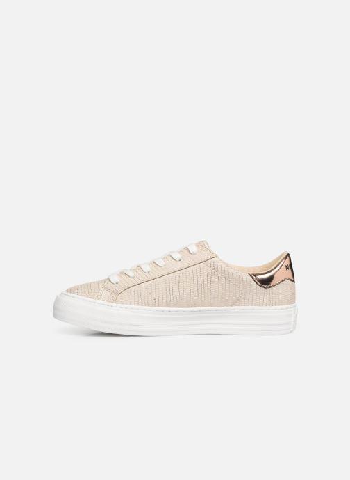 Sneaker No Name Arcade Sneaker Panama gold/bronze ansicht von vorne