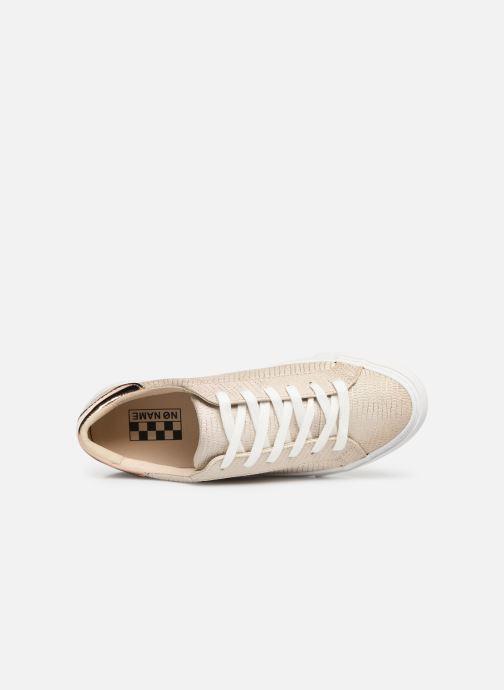 Sneaker No Name Arcade Sneaker Panama gold/bronze ansicht von links