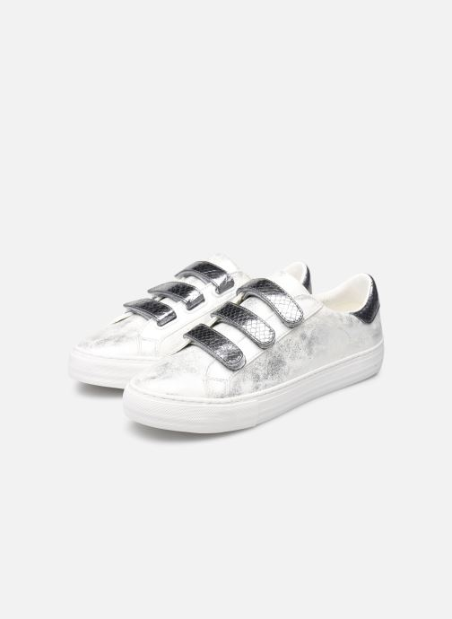 Trainers No Name Arcade Straps Gloom/Reptil Silver view from underneath / model view