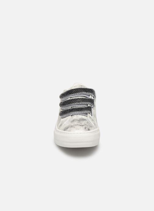 Baskets No Name Arcade Straps Gloom/Reptil Argent vue portées chaussures