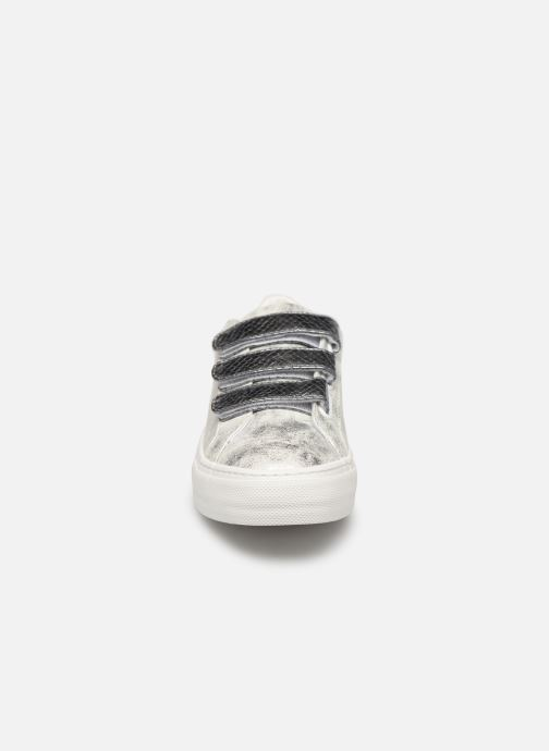 Baskets No Name Arcade Straps GloomReptil Argent vue portées chaussures