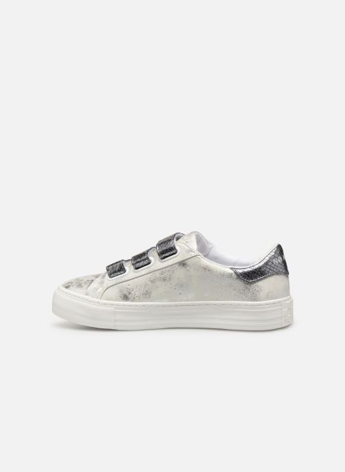 Trainers No Name Arcade Straps Gloom/Reptil Silver front view