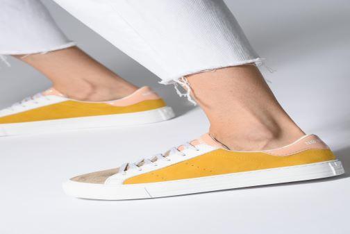 Sneaker No Name Arcade Sneaker Gloom gelb ansicht von unten / tasche getragen