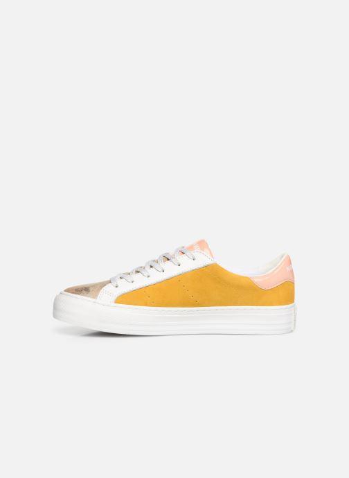 Sneaker No Name Arcade Sneaker Gloom gelb ansicht von vorne