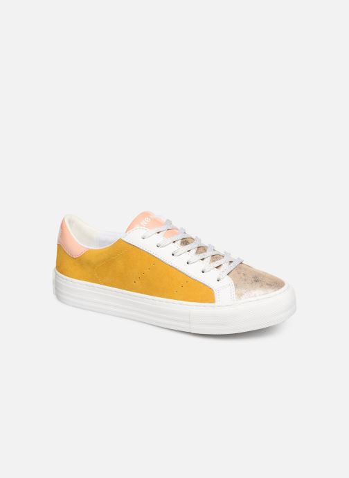 Baskets No Name Arcade Sneaker Gloom Jaune vue détail/paire
