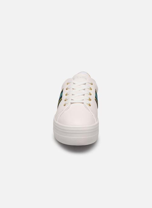 Baskets No Name Plato Derby Blanc vue portées chaussures