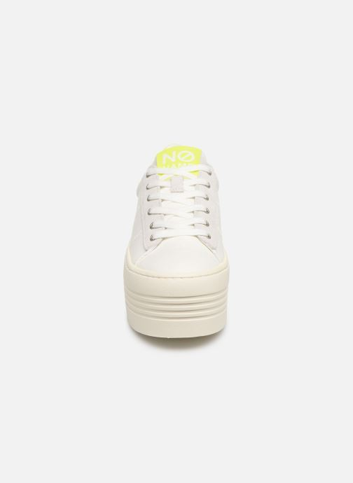 Baskets No Name Twin Sneaker Big/Canvas/Plexi Blanc vue portées chaussures