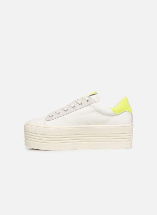 Baskets No Name Twin Sneaker Big/Canvas/Plexi Blanc vue face