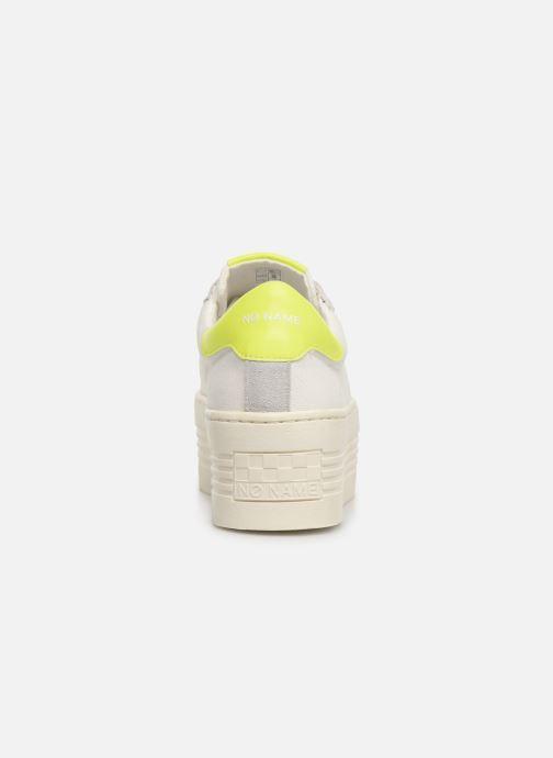Baskets No Name Twin Sneaker Big/Canvas/Plexi Blanc vue droite