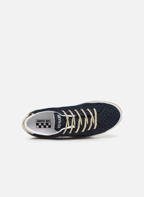 Sneaker No Name Malibu Sneaker Trip blau ansicht von links