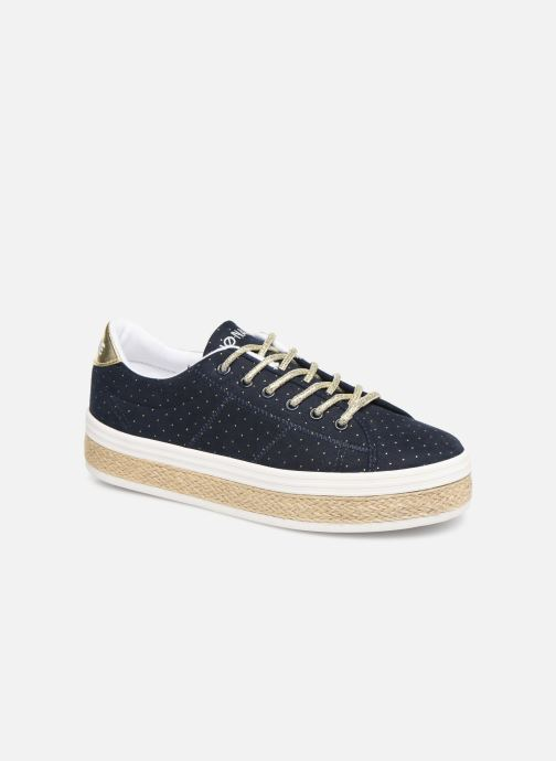 Sneaker No Name Malibu Sneaker Trip blau detaillierte ansicht/modell