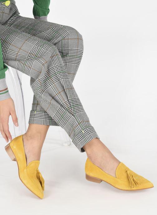 Slipper Made by SARENZA Pastel Affair Mocassins #3 gelb ansicht von unten / tasche getragen