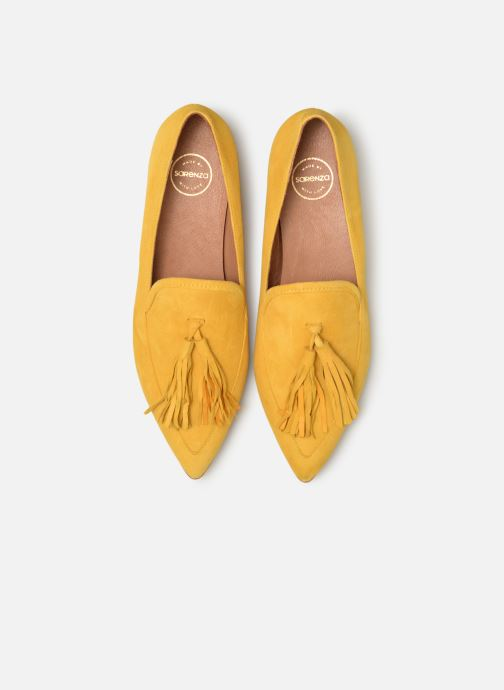 Slipper Made by SARENZA Pastel Affair Mocassins #3 gelb schuhe getragen