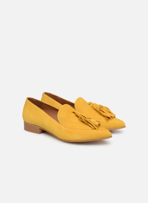 Cuir By Sarenza Made Mocassins3 Velours Affair Jaune Pastel 0Xw8nPkNO