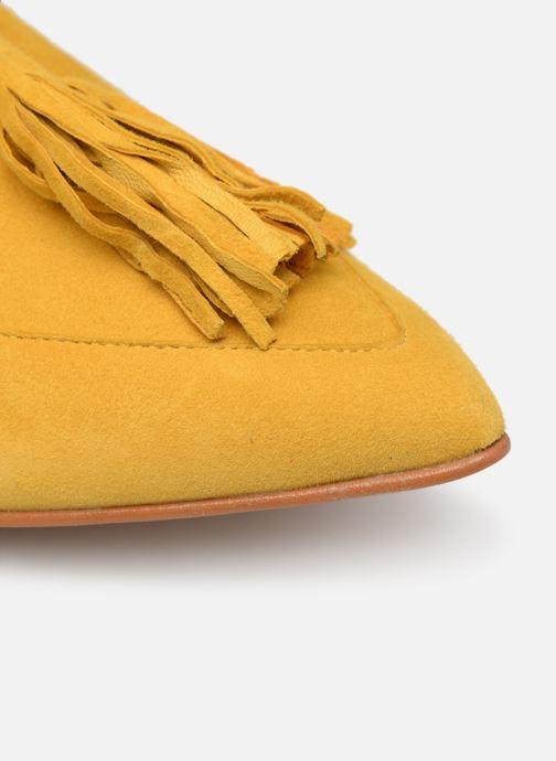 Slipper Made by SARENZA Pastel Affair Mocassins #3 gelb ansicht von links