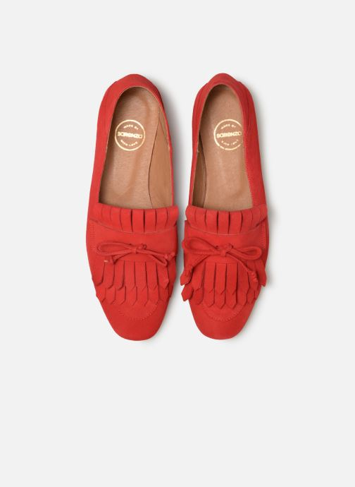 Mocassins Made by SARENZA UrbAfrican Mocassins #2 Rouge vue portées chaussures